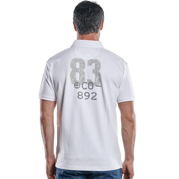 Poloshirt mit sportiver Verarbeitung