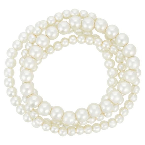 Armband-Set - White Passion