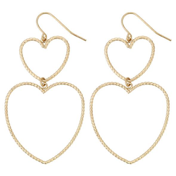 Ohrhänger - Hanging Hearts
