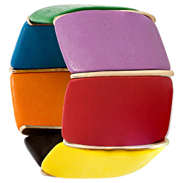Armband - Colorful Wood