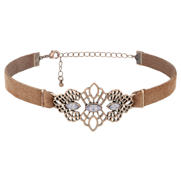 Choker - Antique Leather