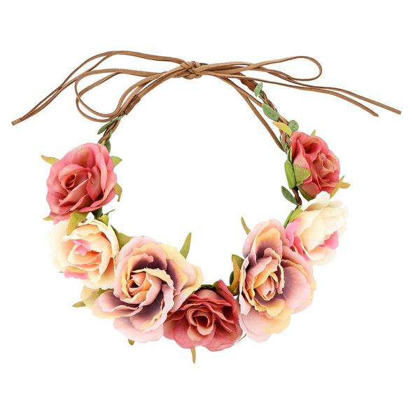 Haarband - Wiesn Flowers