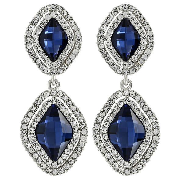 Ohrstecker - Blue Diamonds