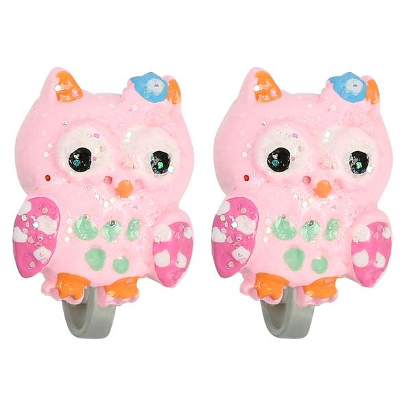 Kinder Ohrclips - Cute Owl
