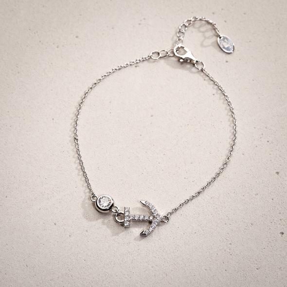 Armband - Crystal Anchor