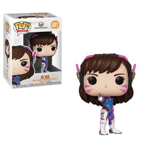 Overwatch - POP!-Vinyl Figur D.Va