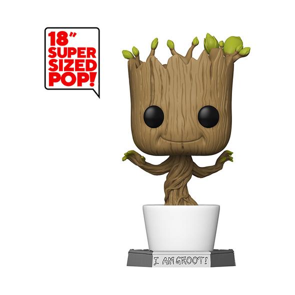 Marvel - POP! Vinyl - Figur tanzender Groot (super Size)