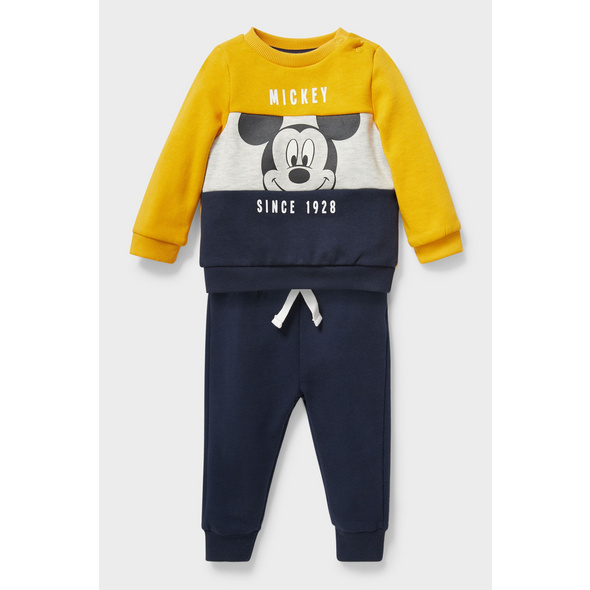 Micky Maus - Baby-Outfit - 2 teilig