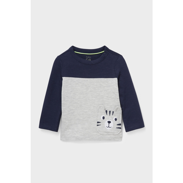 Baby-Langarmshirt - Bio-Baumwolle