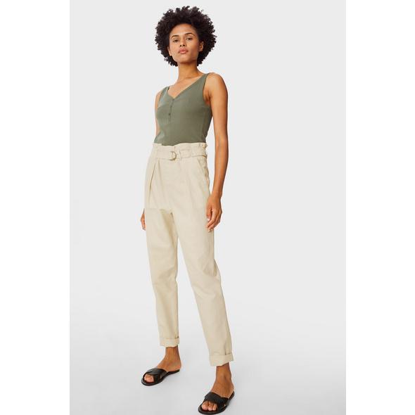 Paperbag Hose - Slim Fit