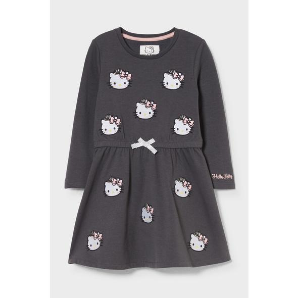 Hello Kitty - Kleid - Glanz-Effekt