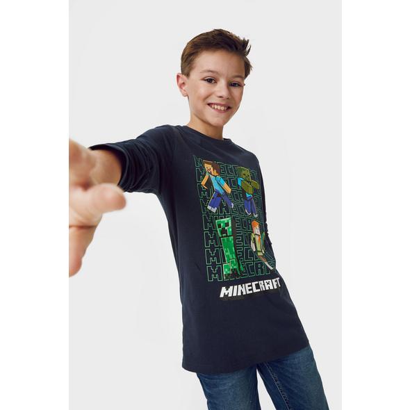 Multipack 2er - Minecraft - Langarmshirt - Bio-Baumwolle