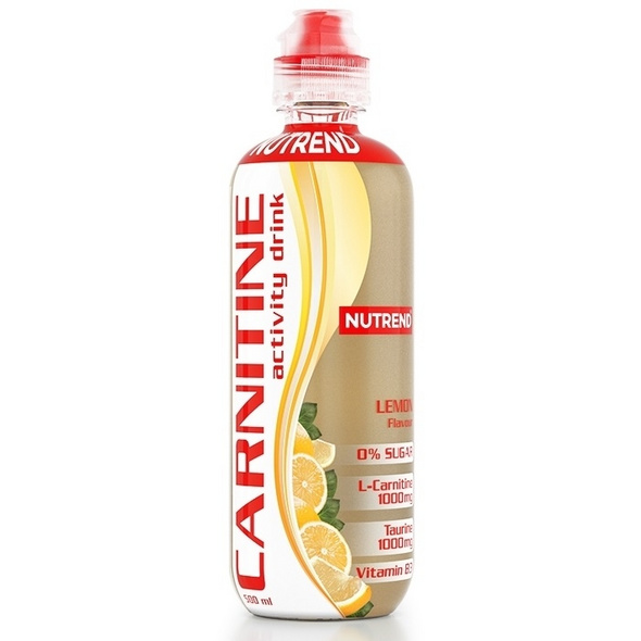 Nutrend Carnitin Activity Drink mit Koffein 500 ml-Red Orange