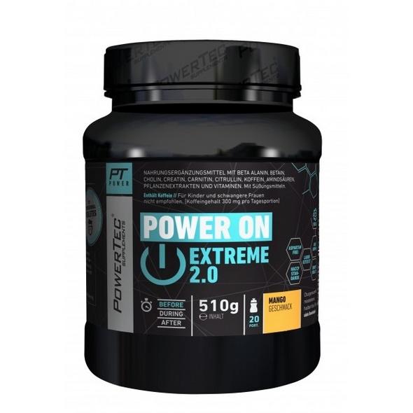 PowerTec Power ON Extreme 2.0 510g-Mango
