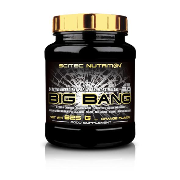 Scitec Nutrition Big Bang 3.0 825g-Orange