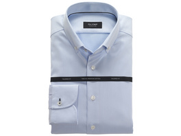 OLYMP SIGNATURE Hemd, tailored fit, Button-down