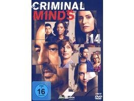 Criminal Minds - Die komplette vierzehnte Staffel   [4 DVDs]