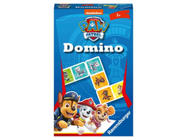 Ravensburger Mitbringspiel - 20845 - Paw Patrol Domino - Das bekannte Legespiel für Kinder ab 3 Jahren